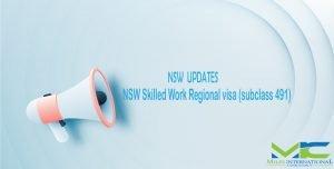 NSW Subclass 491 Update
